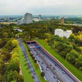 De nieuwe ringweg van Groningen